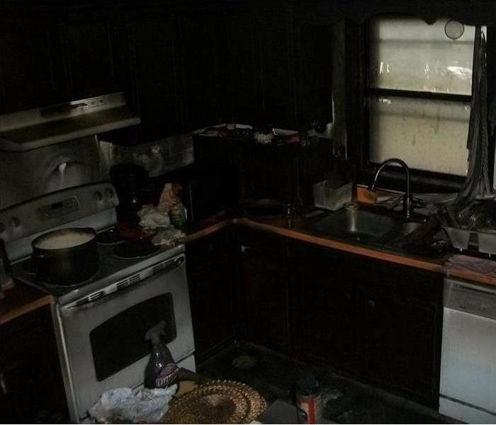Fire Damage...Looks Can Be Deceiving  Before
