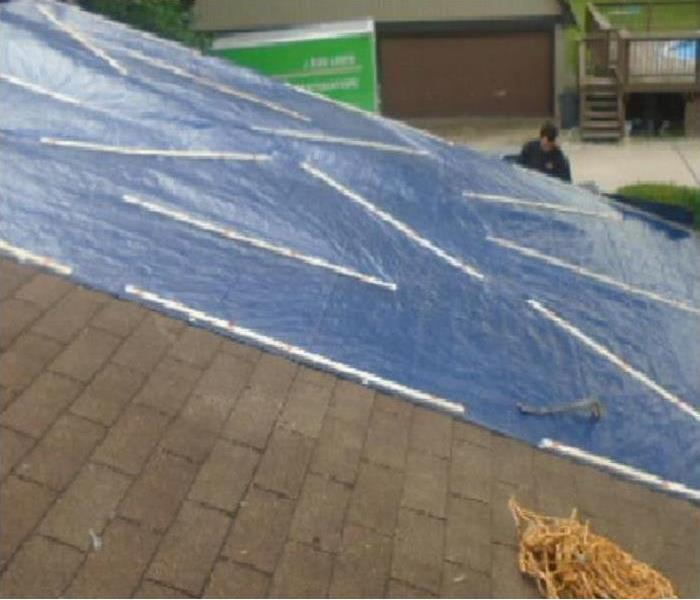 Emergency Roof Tarp Services Available 24/7 After