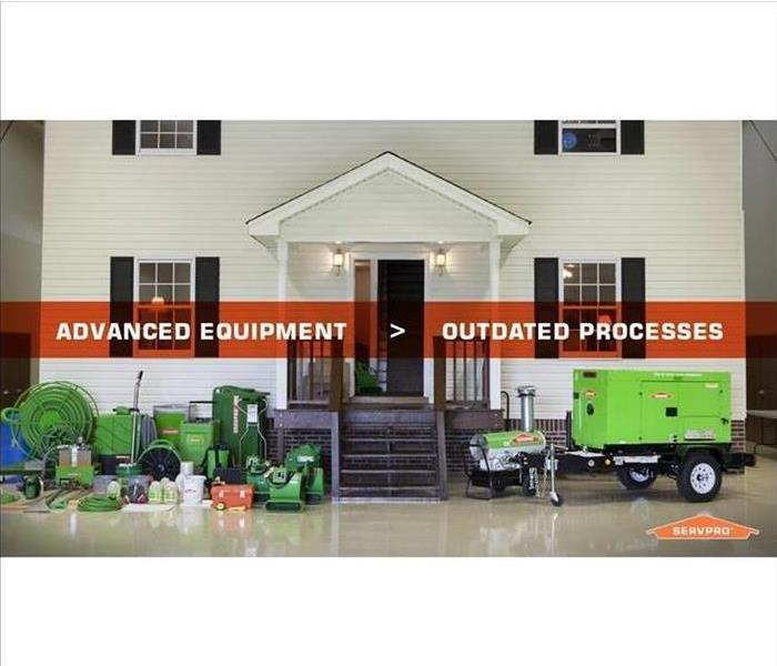SERVPRO of Desoto, Tate, & Tunica Countie's Equipment