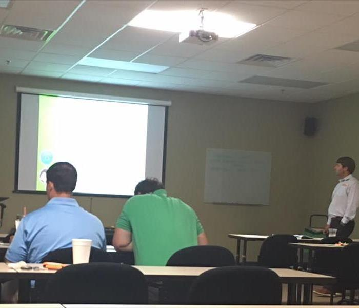 Continuing Education Class at SERVPRO of DTT