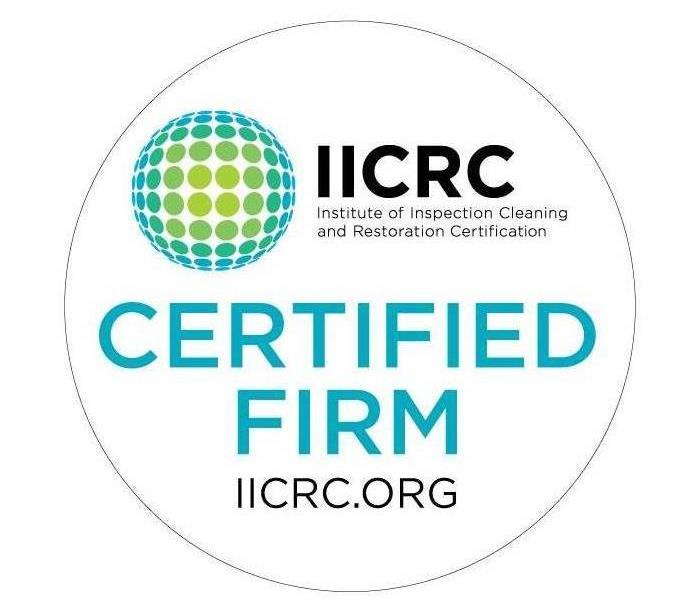 Why SERVPRO SERVPRO of Desoto, Tate, & Tunica Counties is an IICRC Certified Firm