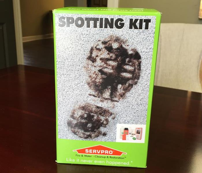 Cleaning The SERVPRO Home Spotting Kit